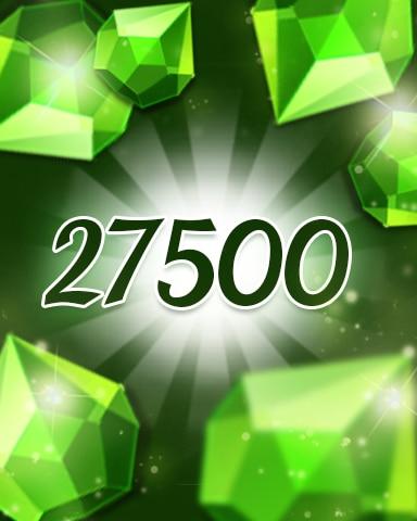 Green Jewels 27500 Badge - Jewel Academy