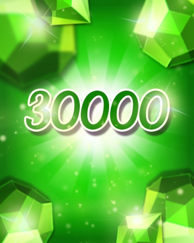 Green Jewels 30000 Badge - Jewel Academy