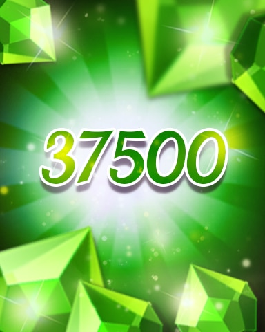 Green Jewels 37500 Badge - Jewel Academy