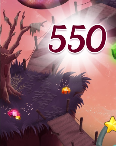 Level 550 Badge - Jewel Academy