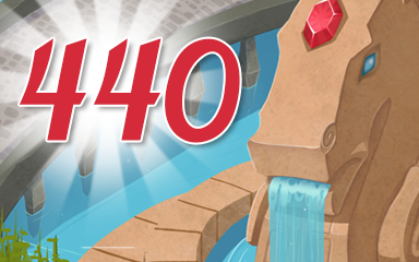 Level 440 Badge - Jewel Academy