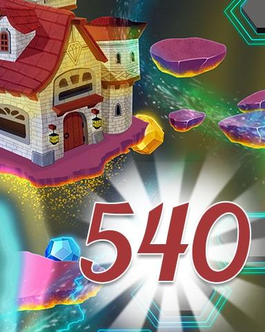 Level 540 Badge - Jewel Academy