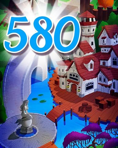 Level 580 Badge - Jewel Academy