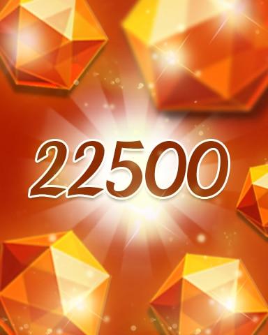Orange Jewels 22500 Badge - Jewel Academy