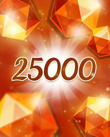 Orange Jewels 25000 Badge - Jewel Academy