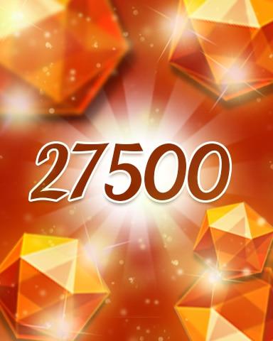 Orange Jewels 27500 Badge - Jewel Academy