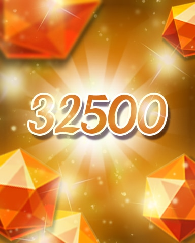 Orange Jewels 32500 Badge - Jewel Academy