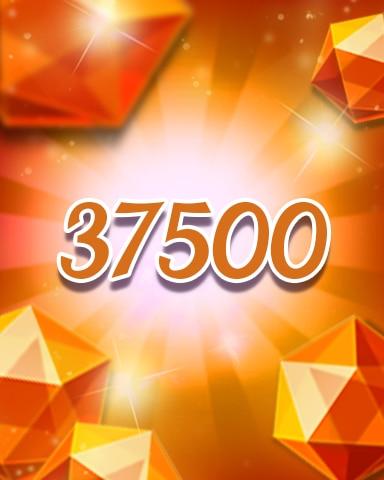 Orange Jewels 37500 Badge - Jewel Academy