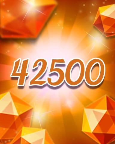 Orange Jewels 42500 Badge - Jewel Academy