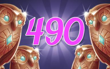 Owls 490 Badge - Jewel Academy