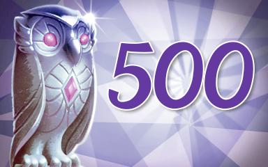 Owls 500 Badge - Jewel Academy