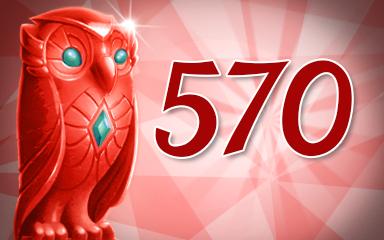 Owls 570 Badge - Jewel Academy