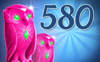 Owls 580 Badge - Jewel Academy