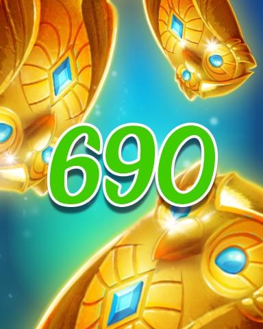 Owls 690 Badge - Jewel Academy