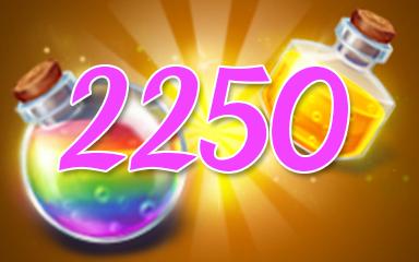 Power-Ups 2250 Badge - Jewel Academy