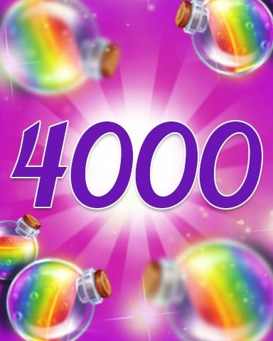 Power-Ups 4000 Badge - Jewel Academy