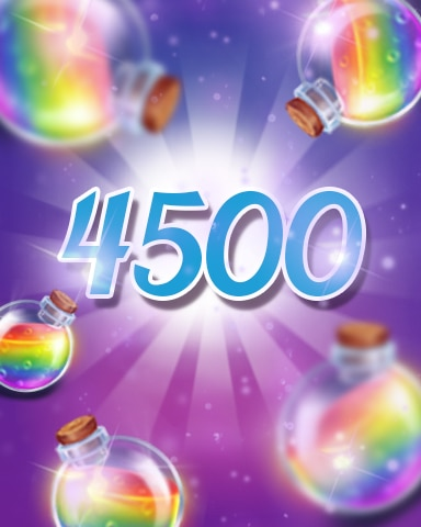 Power-Ups 4500 Badge - Jewel Academy