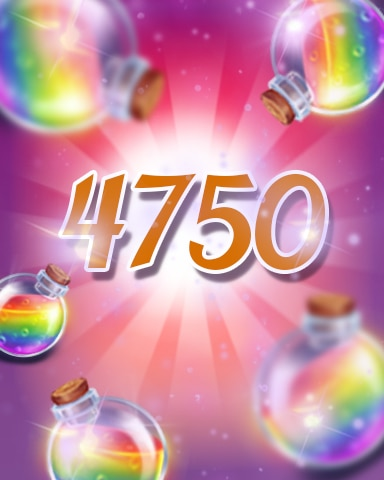 Power-Ups 4750 Badge - Jewel Academy