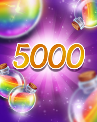 Power-Ups 5000 Badge - Jewel Academy