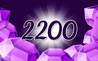 Bewitching Purple Jewels Badge - Jewel Academy