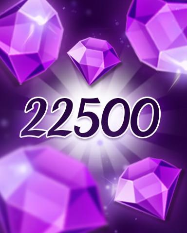 Purple Jewels 22500 Badge - Jewel Academy