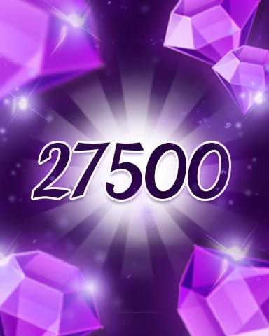 Purple Jewels 27500 Badge - Jewel Academy