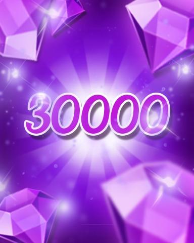 Purple Jewels 30000 Badge - Jewel Academy