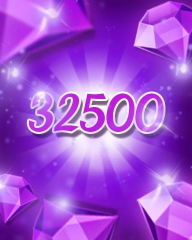 Purple Jewels 32500 Badge - Jewel Academy