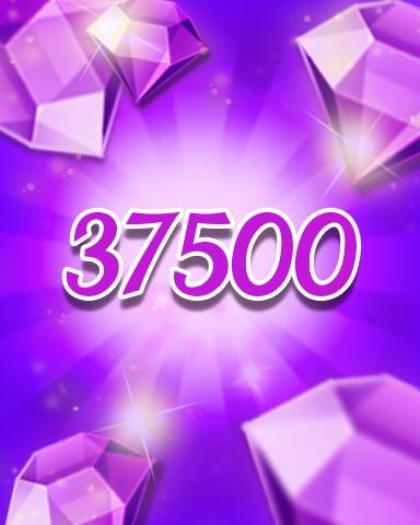 Purple Jewels 37500 Badge - Jewel Academy