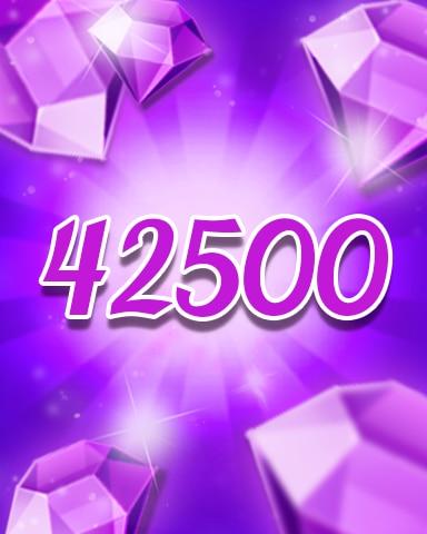 Purple Jewels 42500 Badge - Jewel Academy