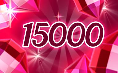 Red Jewels 15000 Badge - Jewel Academy