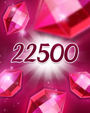 Red Jewels 22500 Badge - Jewel Academy