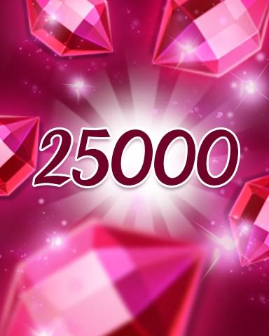 Red Jewels 25000 Badge - Jewel Academy