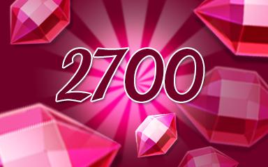 Red Jewels 2700 Badge - Jewel Academy
