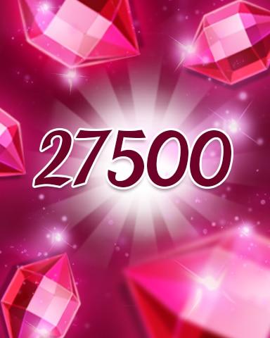 Red Jewels 27500 Badge - Jewel Academy