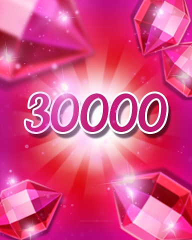 Red Jewels 30000 Badge - Jewel Academy
