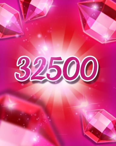 Red Jewels 32500 Badge - Jewel Academy