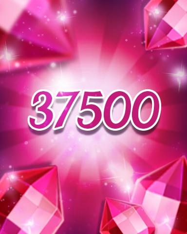 Red Jewels 37500 Badge - Jewel Academy