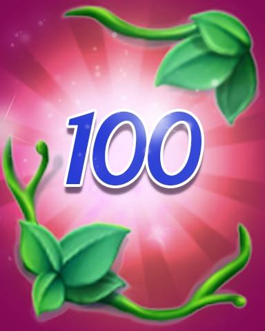 Vines 100 Badge - Jewel Academy