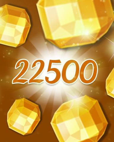 Yellow Jewels 22500 Badge - Jewel Academy