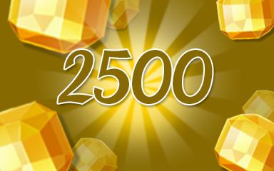 Yellow Jewels 2500 Badge - Jewel Academy