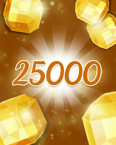 Yellow Jewels 25000 Badge - Jewel Academy