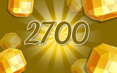 Yellow Jewels 2700 Badge - Jewel Academy