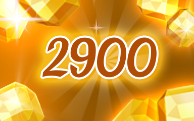 Yellow Jewels 2900 Badge - Jewel Academy