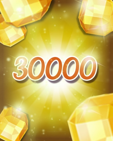 Yellow Jewels 30000 Badge - Jewel Academy