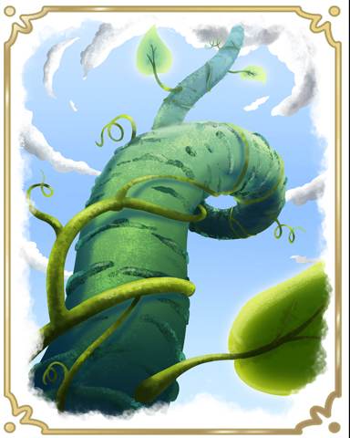 Jack's Beanstalk Badge - StoryQuest