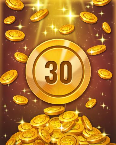 Rank 30 Badge - Pogo™ Slots