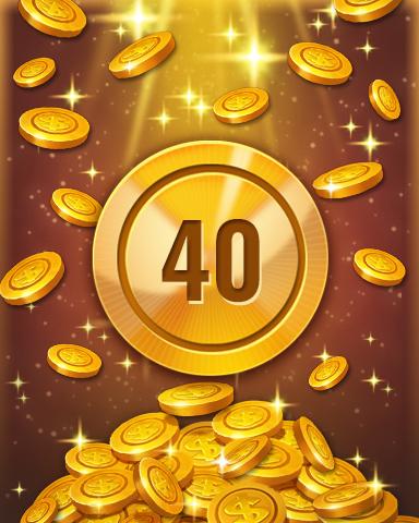 Rank 40 Badge - Pogo™ Slots