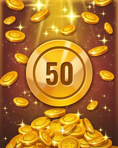 Rank 50 Badge - Pogo™ Slots