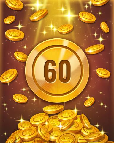 Rank 60 Badge - Pogo™ Slots